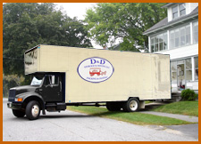 D&D Local Storage and Moving Truck in Cincinnati, Ohio (OH)