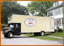 Residential Moving & Storage Truck in Cincinnati, Ohio (OH)